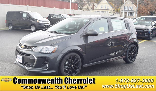 New 2017 Chevrolet Sonic Premier Hatchback In Lawrence