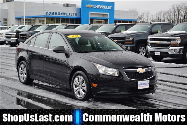 Pre owned 2012 chevrolet cruze ls 4dr car in lawrence Commonwealth motors used cars
