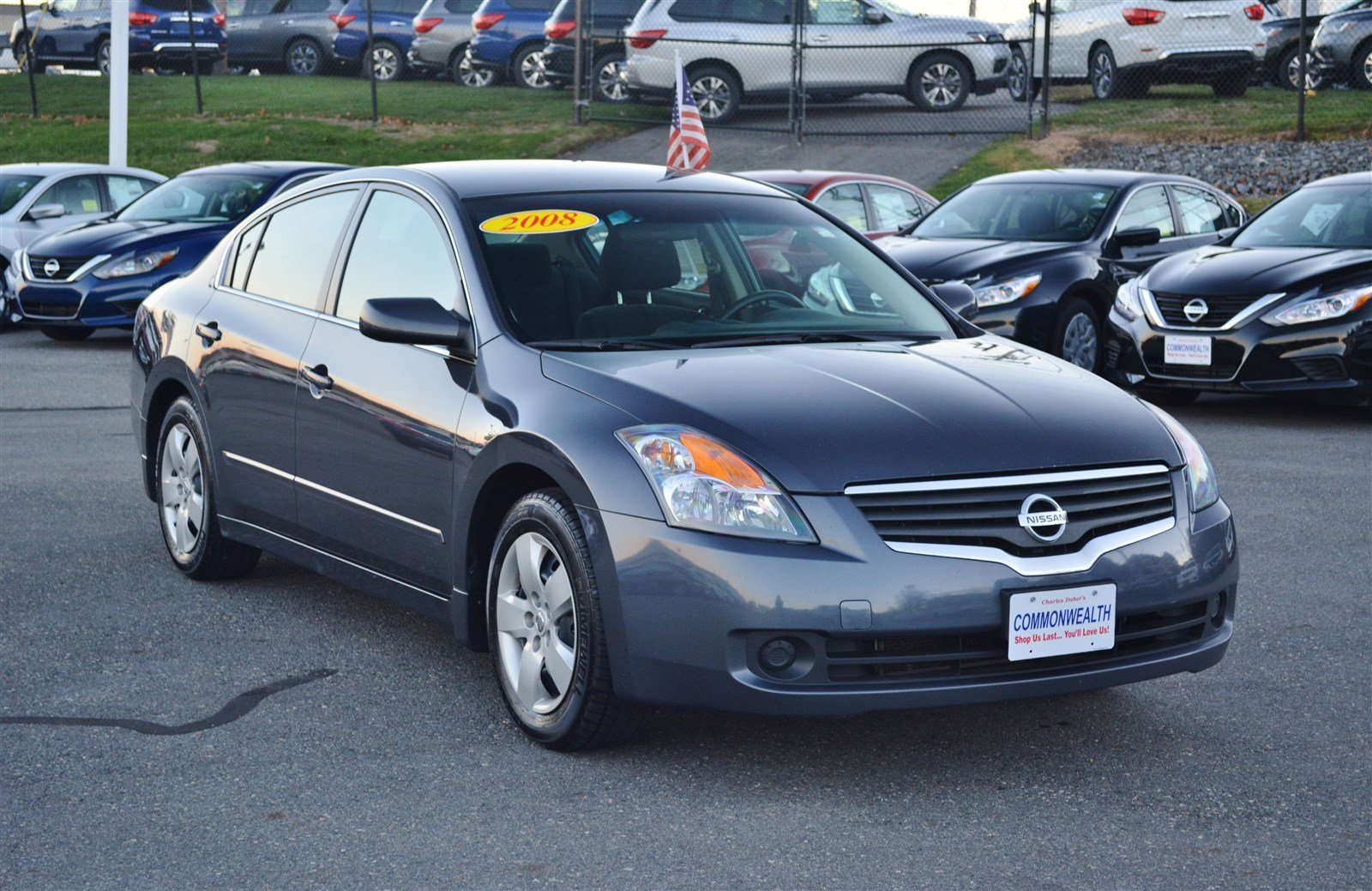 Pre Owned 2008 Nissan Altima 2 5 S 4dr Car In Lawrence H12681b Commonwealth Motors