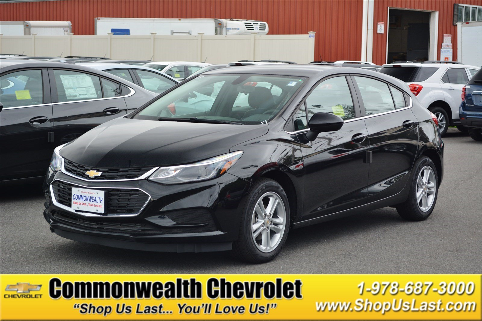 New 2017 Chevrolet Cruze Lt Hatchback In Lawrence C5104