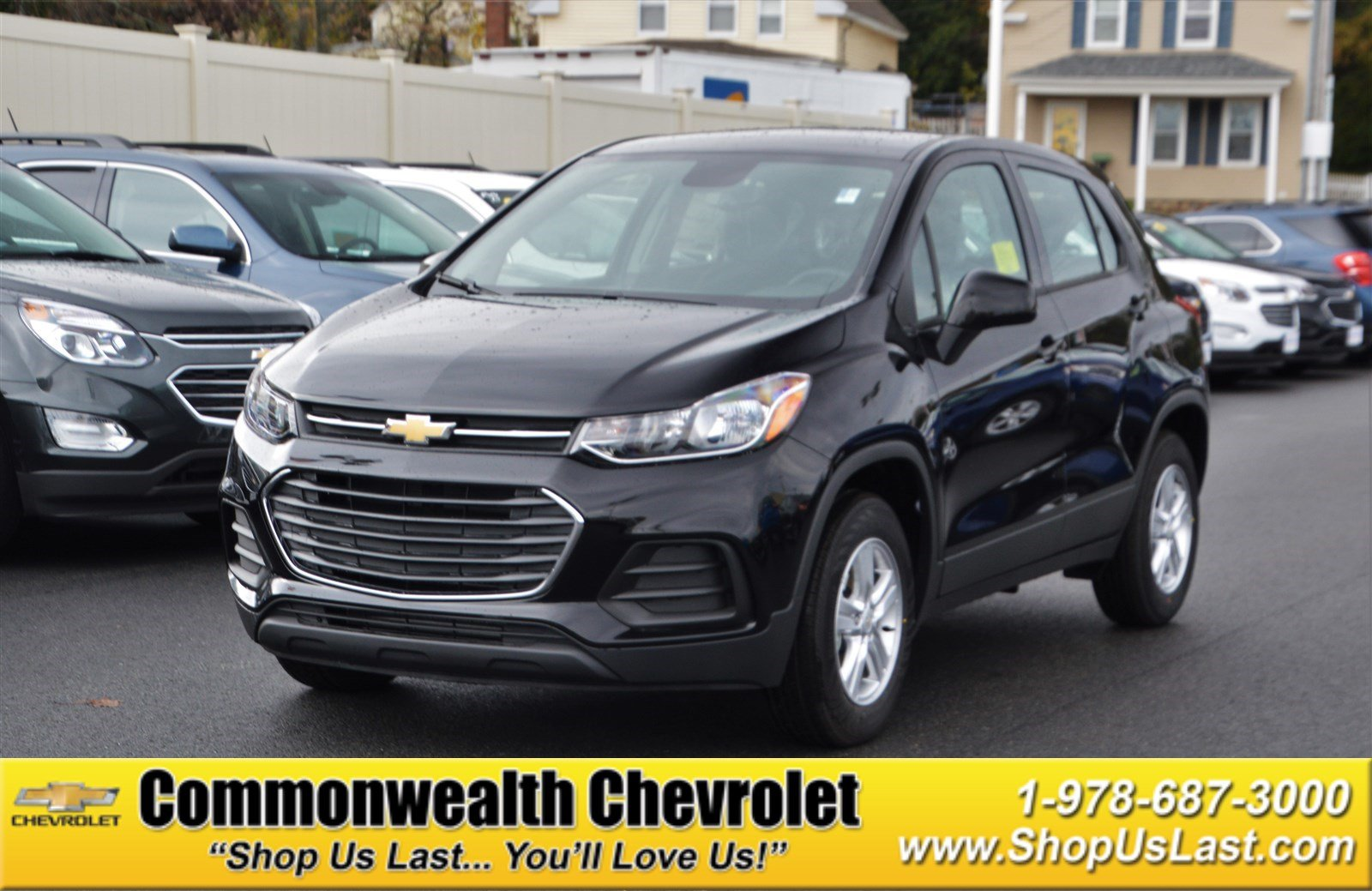 New 2017 Chevrolet Trax Ls Sport Utility In Lawrence